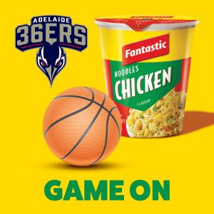 Adelaide 36ers Fantastic Snacks